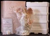 "LIMITED EDITION FIGHT AGAINST BREAST CANCER SERAPHIM CLASSIC ""HOPE"" ANGEL #78104"